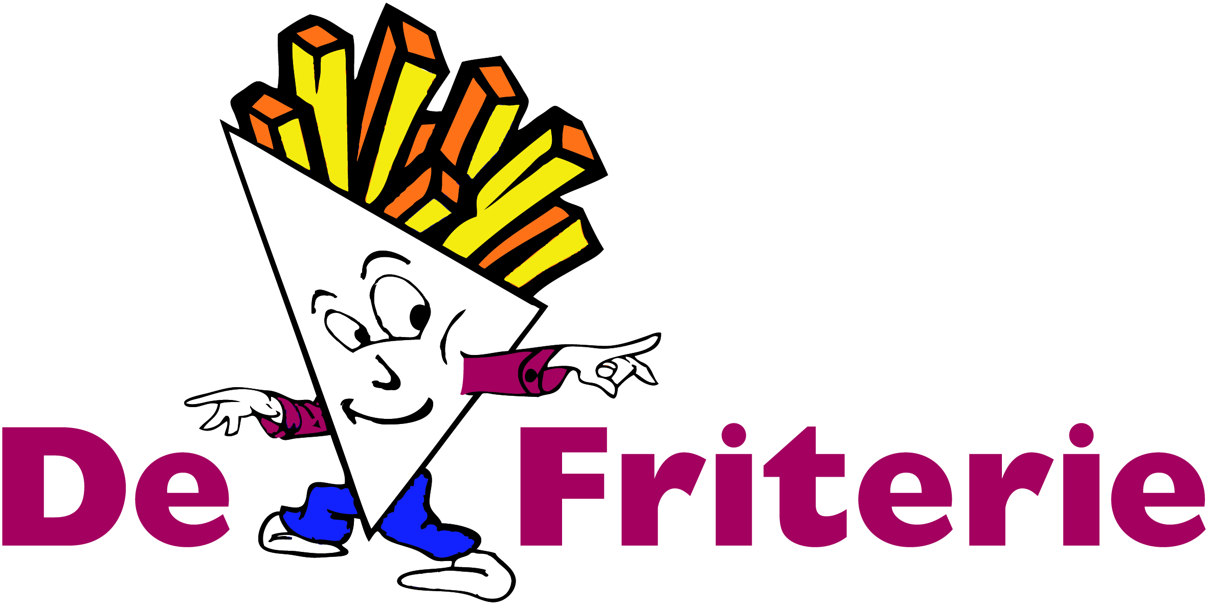 friterie logo eigen gebruik